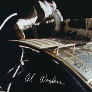 Al Worden Autographed Print 1