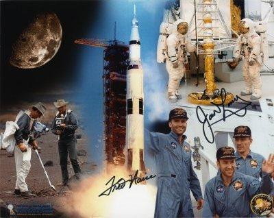 Apollo 13 Multi-signed Collage Print