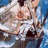 Ed Gibson Autographed EVA Print