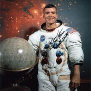 Fred Haise Autographed Official NASA Portrait