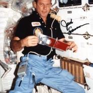 Jack Lousma Autographed STS-3 Print