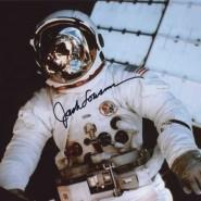 Jack Lousma Autographed Spacewalk Print
