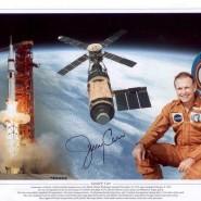Jerry Carr - Skylab 4 Autographed Print