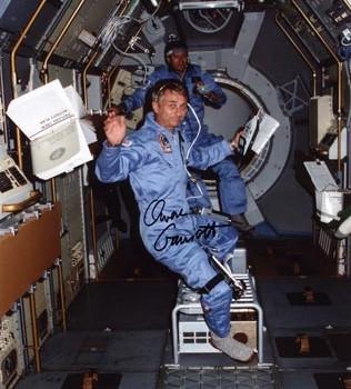 Owen Garriott STS-9 Autographed Print
