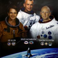 US Astronaut Hall Of Fame Class of 2005 Autographed Commemorative Poster