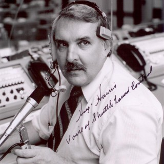 Hugh Harris Autographed Print